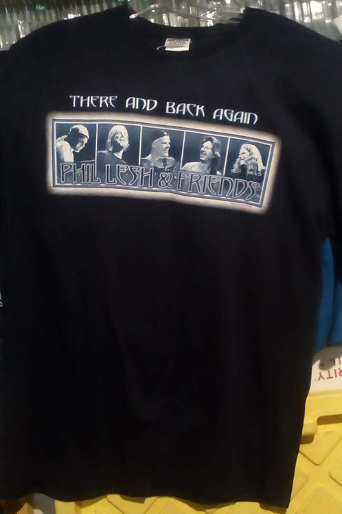Phil Lesh & Friends 2002 There and Back Again-T-Shirt-Navy-by Dye The Sky