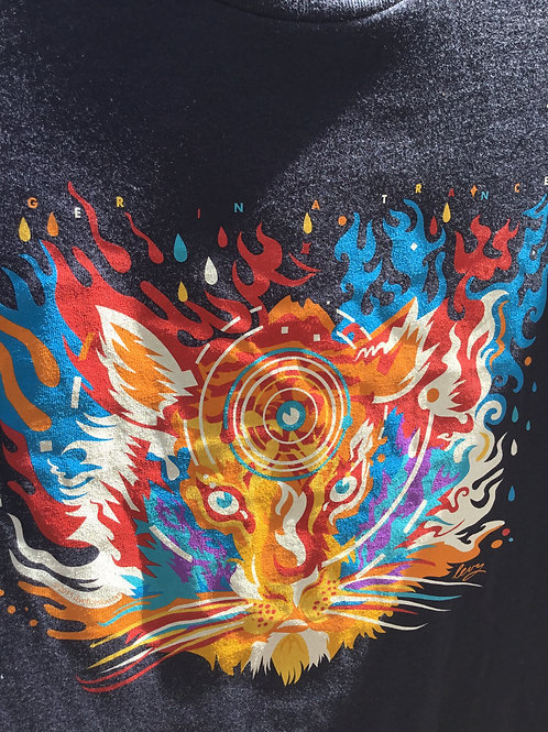 Grateful Dead-Womens T-Shirt-Tiger Trance-by Dye the Sky