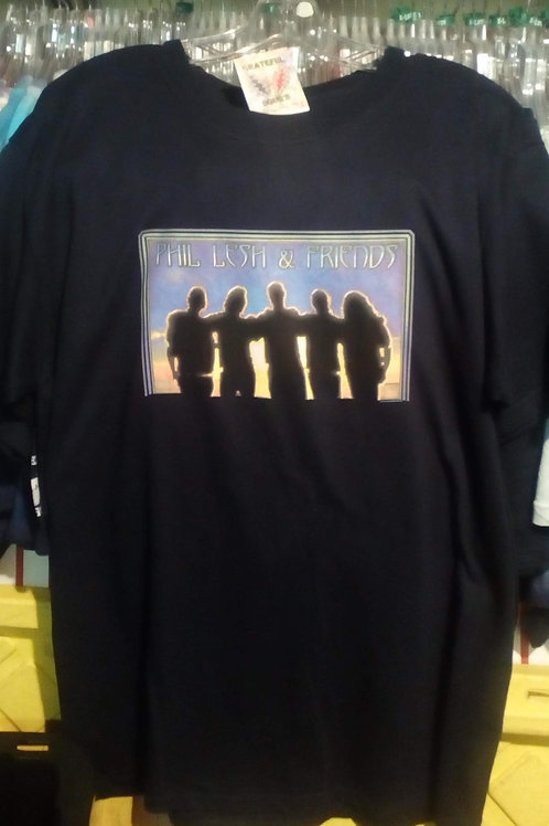 Phil Lesh & Friends -T-Shirt-Navy-by Dye The Sky - 2002 - From the Shadows