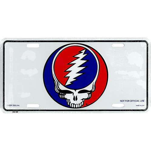 Grateful Dead- Steal Your Face - Novelty License Plate