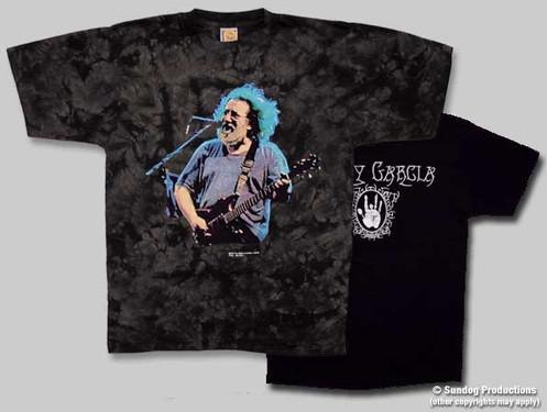 32902868 Jerry Garcia T Shirt Bird Song Tie Dye By Not Fade Away