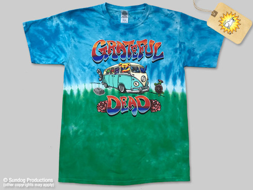 1fa4d8c367799b Grateful Dead T-Shirt-Bus-Tie-Dye-by Not Fade Away