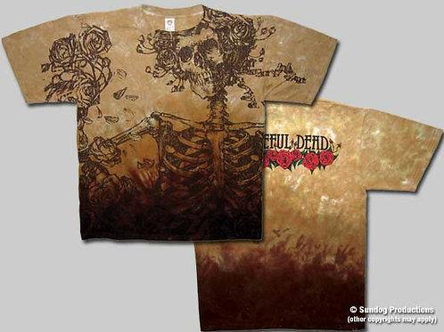 Grateful Dead T-Shirt-Big Bertha-Brown Tie-Dye-by Not Fade Away