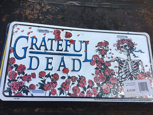 Grateful Dead-Bertha - Novelty License Plate
