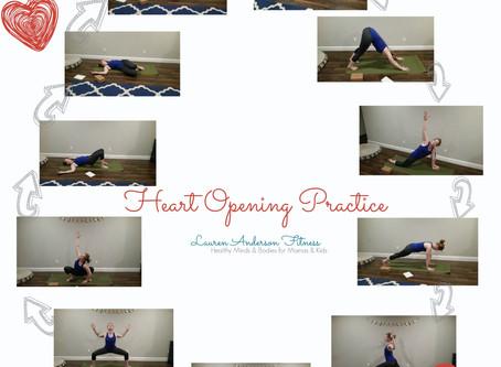 Heart Opening Yoga Practice