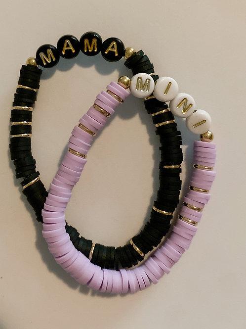 Mama & Mini Custom Disc Bracelet