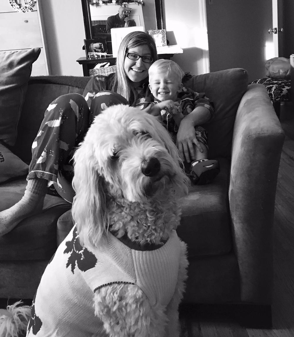 Kara, Hudson and Oliver McGuire