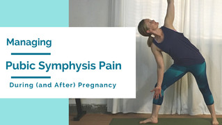Dealing with Pubic Symphysis Pain During (and After) Pregnancy