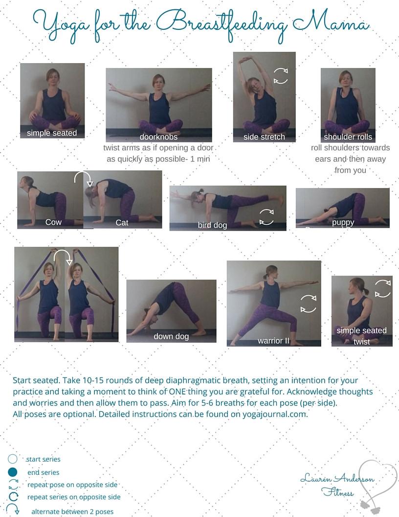 Yoga for the Breastfeeding Mama, LGAnderson