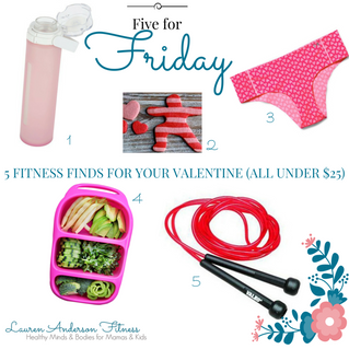 5 for Friday- Fitness Finds for your Valentine