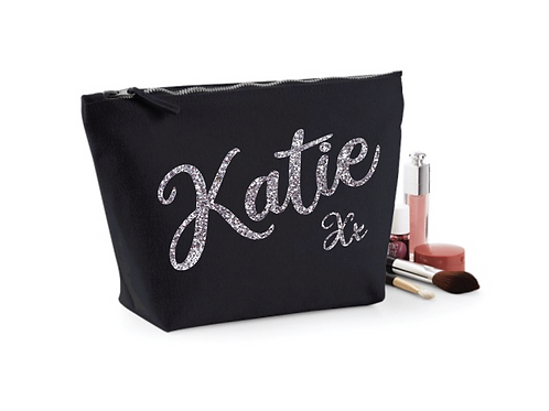 Personalised Canvas Make-up Bag