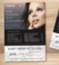 Beauty leaflet