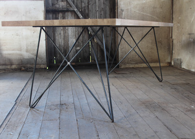 Space Legs With Solid Oak table top.JPG