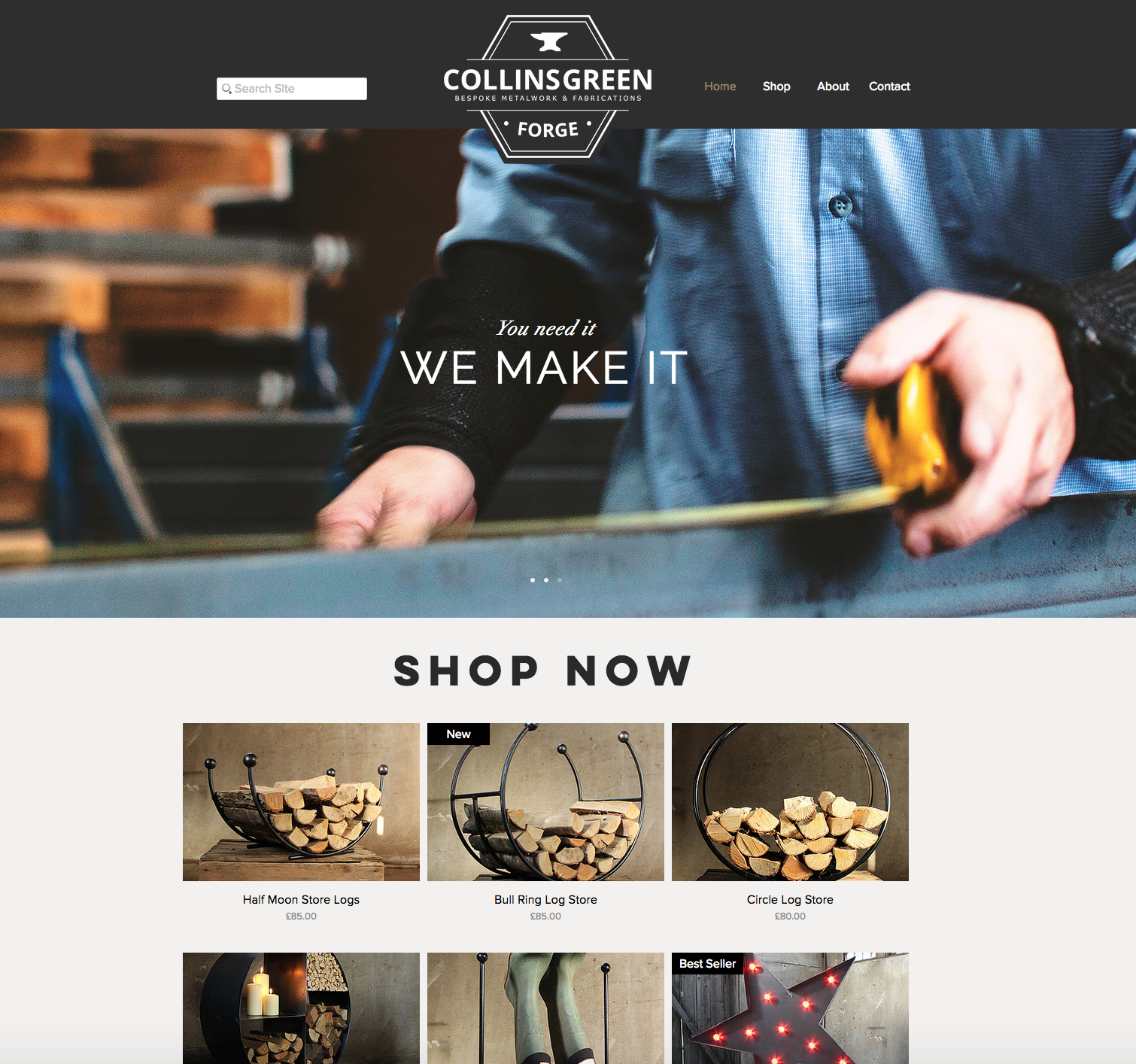 Collinsgreen Website