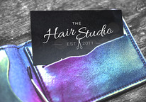 Hair studio Business cards