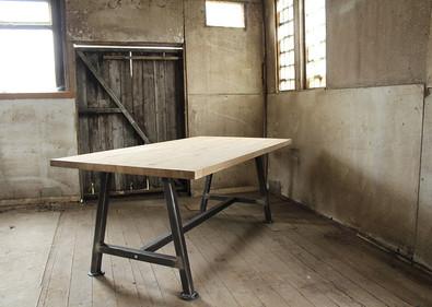 A Frame Solid Oak Table topRD.jpg