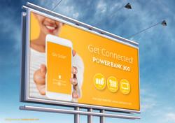 PB300 Campaign billboard