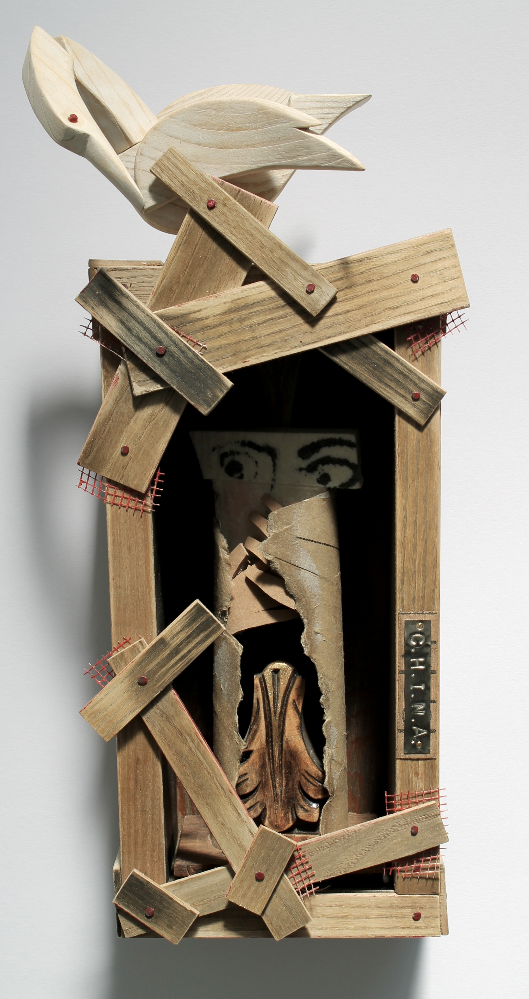 C.H.I.N.A. : mixed media sculpture