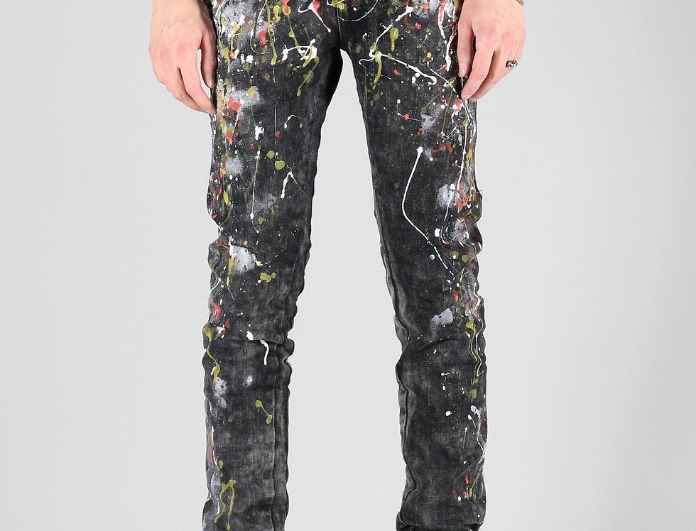 'TIGHT' JEANS | HAND-PAINTED