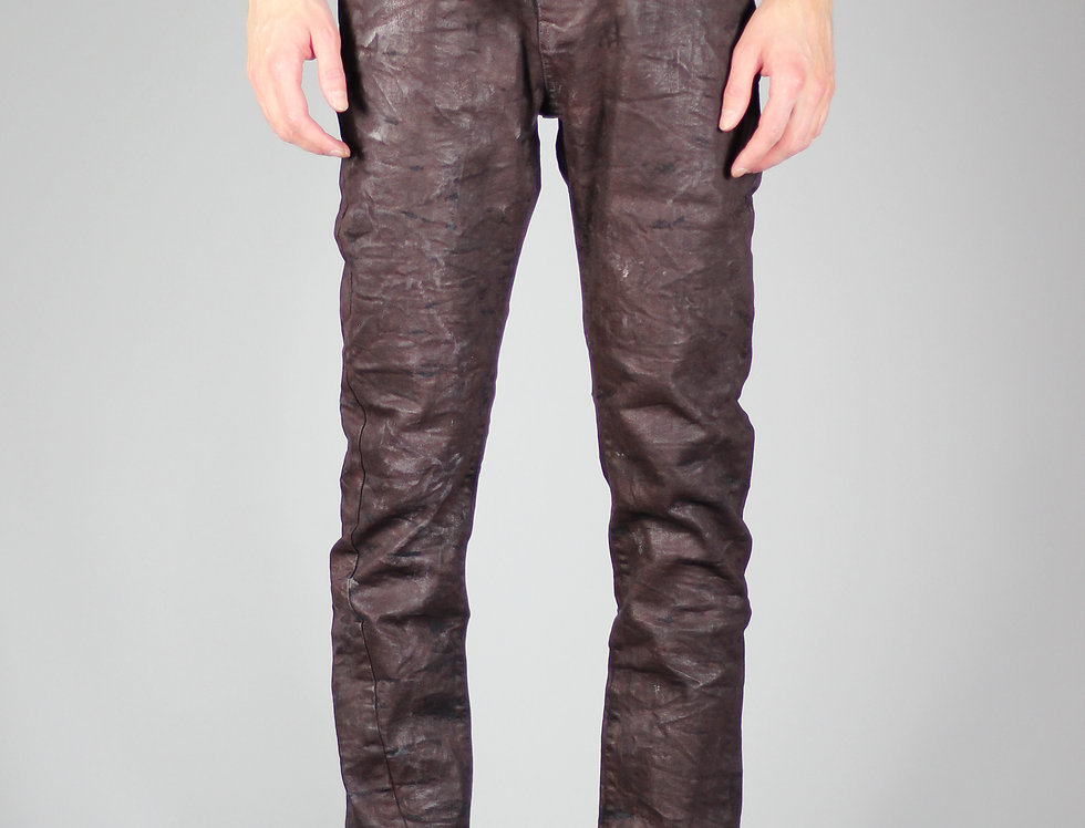 'VEIT' JEANS | RUST-RED
