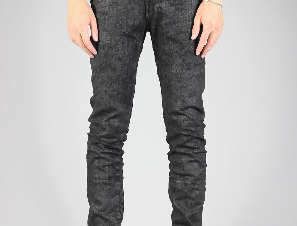 'TIGHT' JEANS | IRREGULAR COATED