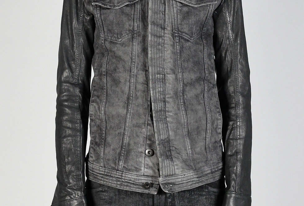 'CARL' JACKET | DIRT WASH-LEATHER
