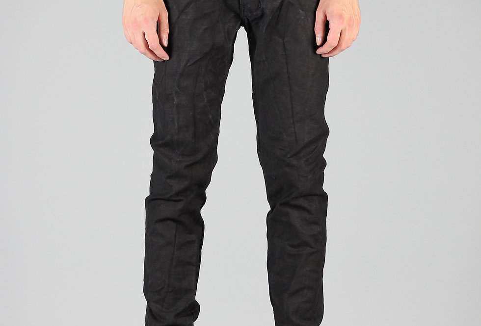 'TIGHT' JEANS | BLACK - STRUCTURE
