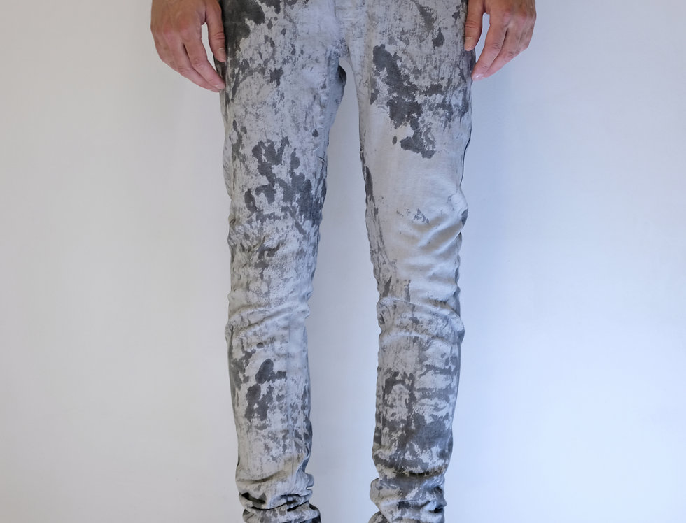 'TIGHT' JEANS | OFF WHITE \ IRREGULAR DIRT