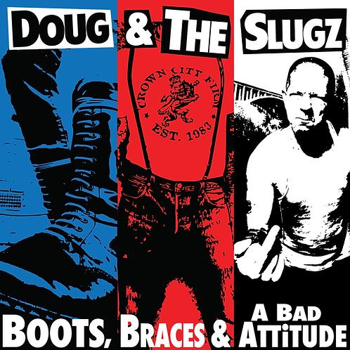 "Boots, Braces & A Bad Attitude 12"" BLACK VINYL"