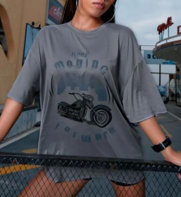 Keep Moving Forward motorcycle tee
