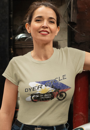 Dyer Cycle Dawn cotton tee