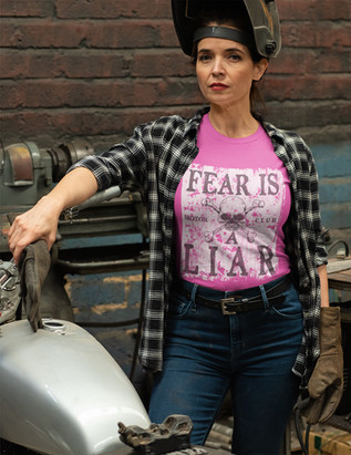 Fear is a Liar women's cotton tee.jpg