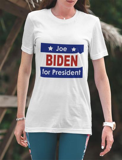 Biden for President unisex tee