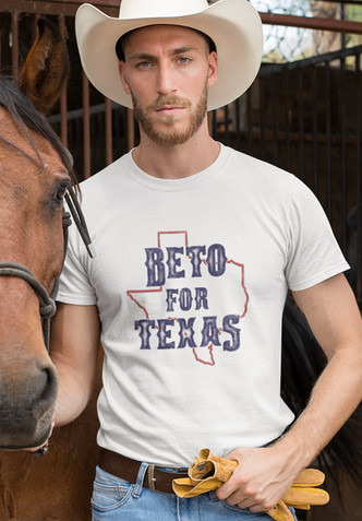 Beto for Texas unisex cotton tee
