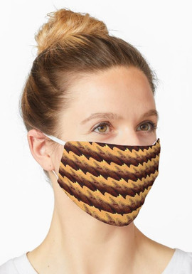 New Mexico Fire 2-Layer Face Mask