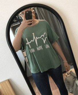 Faith Hope Love Women's Plus Size Tee