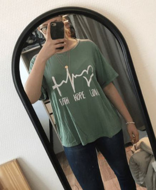 Faith Hope Love Women's Plus Size Tee