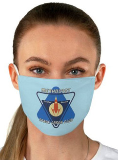 Methodist Space Laser Club 2-Layer Mask