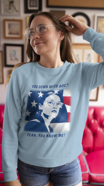 You Down With AOC? unisex sweater