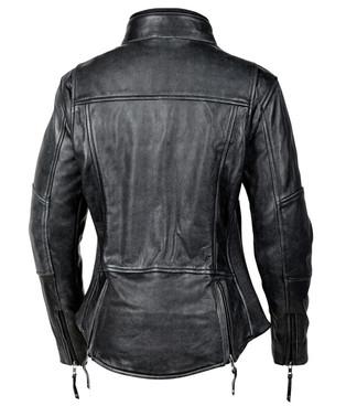 Cortech Lolo Women's Leather Jacket in Black - back - Copy.jpg