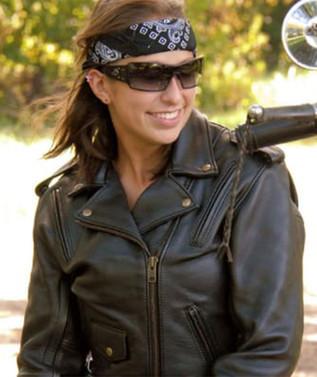 Women's Classic Motorcycle Jacket