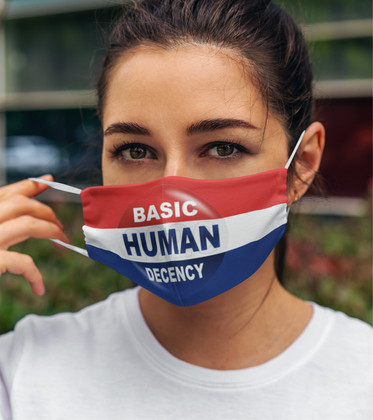 Basic Human Decency 2-Layer Face Mask