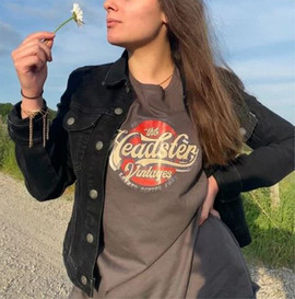 The Headster Vintages women's tee shirt