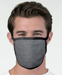Denim Pattern 2-Layer face mask