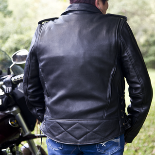 Fox Creek Women's Classic Leather Jacket - back