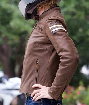 Joe Rocket Classic 92 Women's Leather Jacket (side)