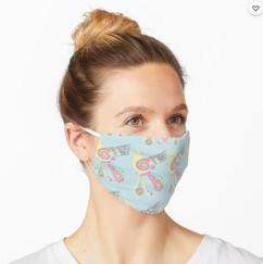 Aztek Bird 2-Layer Face Mask