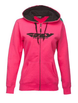 Fly Corporate Zip Up Women's Hoodie