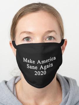 Make America Sane Again face mask.JPG