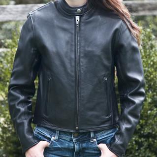 Fox Women's Leather Summer Riding Jacket